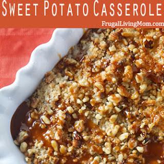 Salted Caramel Sweet Potato Casserole