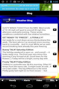 WAVE 3 Louisville Weather - screenshot thumbnail