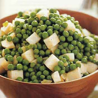 Peas with Celery Root