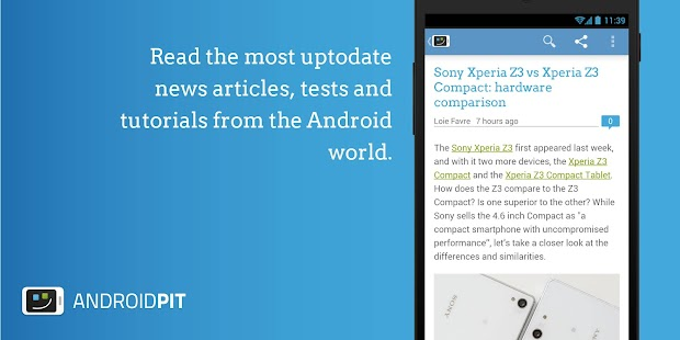 AndroidPIT: Apps, News, Forum- screenshot thumbnail
