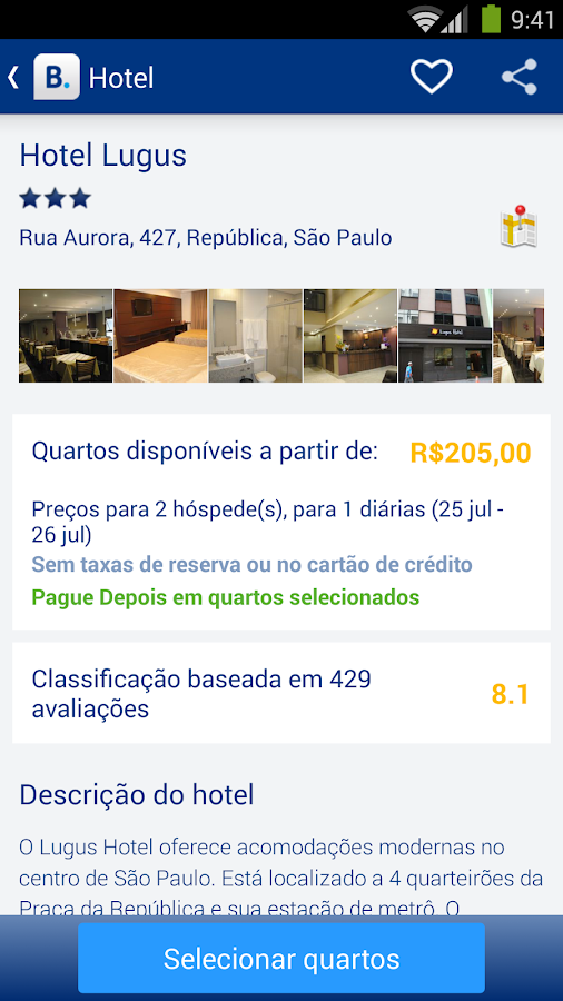 Booking.com: 445.000+ hotéis - screenshot