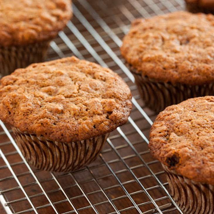 Oatmeal Raisin Cookie Muffins Recipe