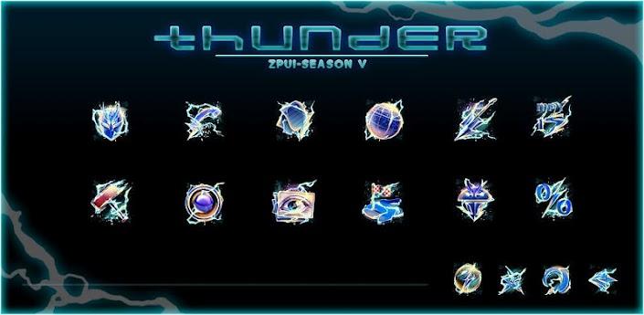 Thunder GO LauncherEX Theme apk
