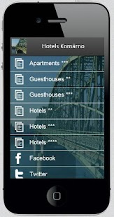 Hotels Komarno- screenshot thumbnail