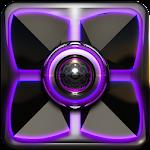 Next Launcher Theme Purple G v4.40 [440]