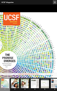 UCSF Magazine - screenshot thumbnail