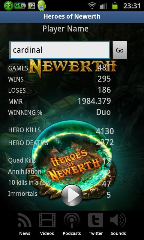 Heroes of Newerth MultiApp HoN - screenshot