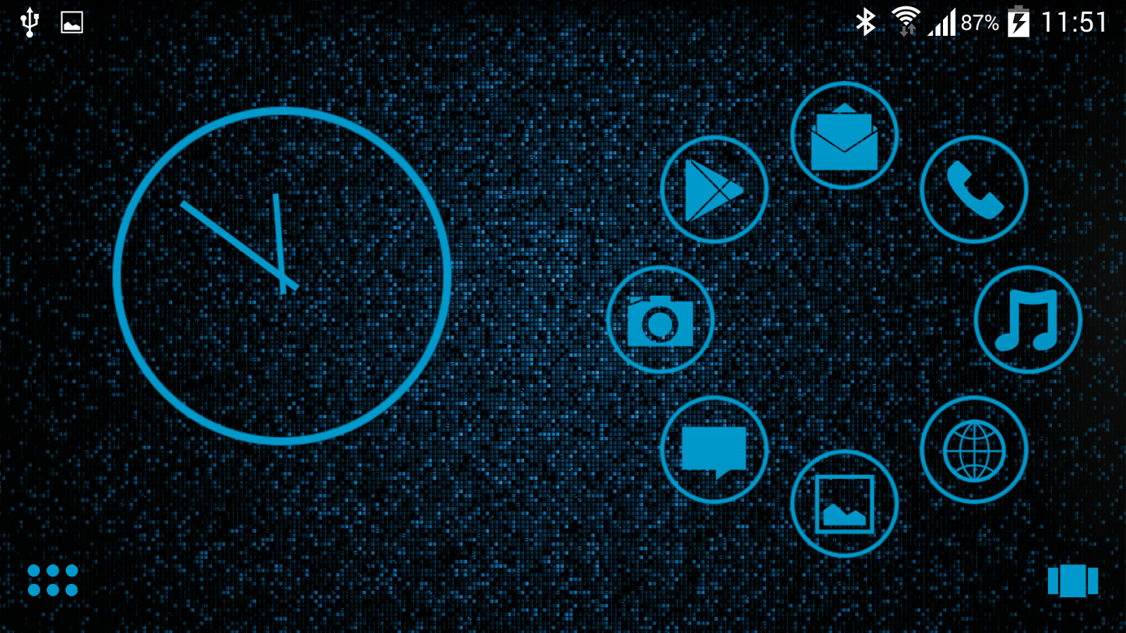 Google themes blue - Sl Blue Theme Screenshot