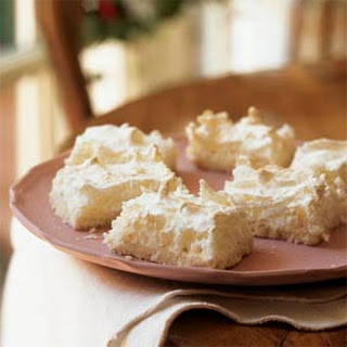 Lemon-Scented Coconut Macaroon Bars