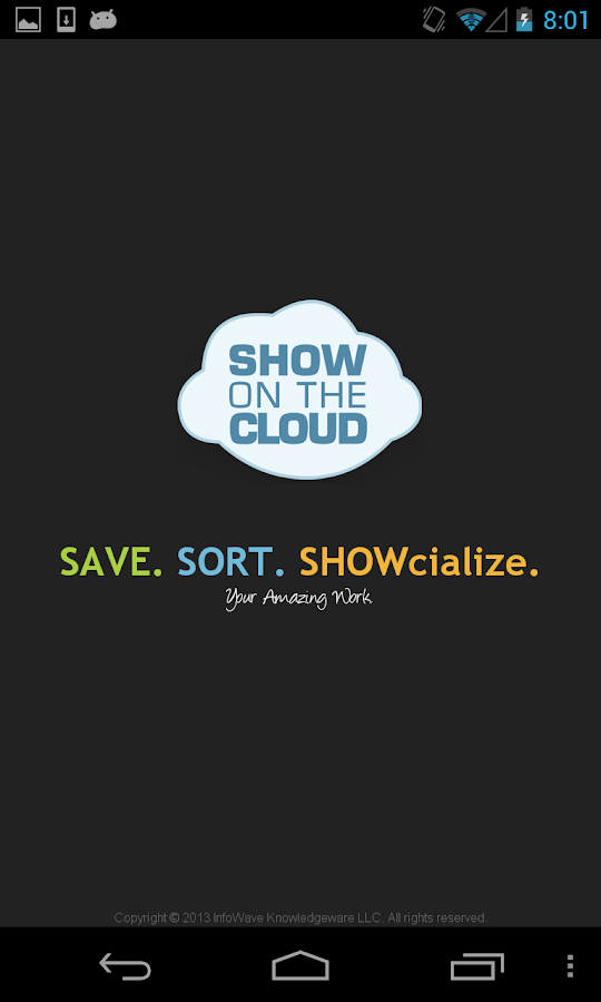 Show On The Cloud- screenshot