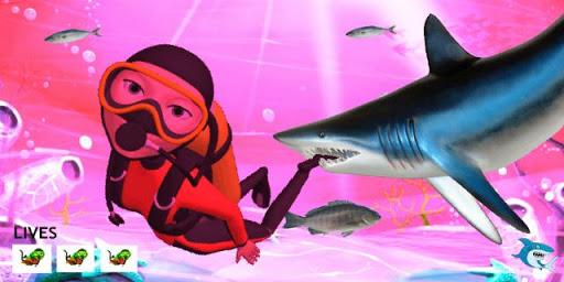 Hungry Crazy Shark