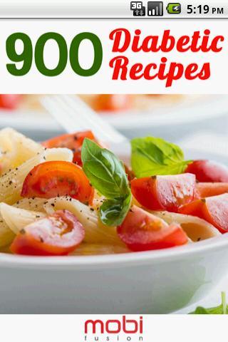 900 Diabetic Recipes