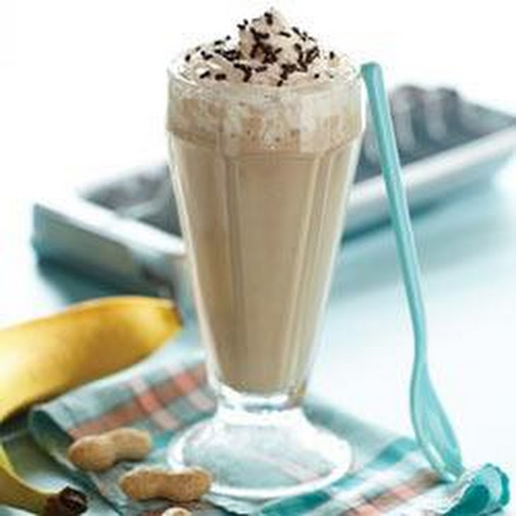 Banana-Peanut Butter Smoothies Recipe