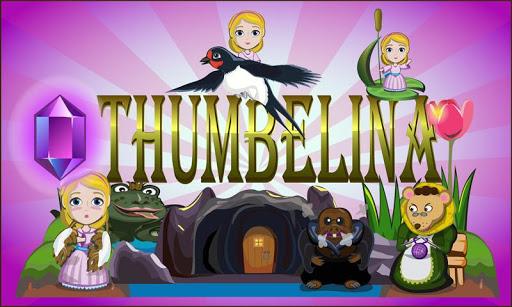 拇指姑娘: 互動3D彈出式英語童話