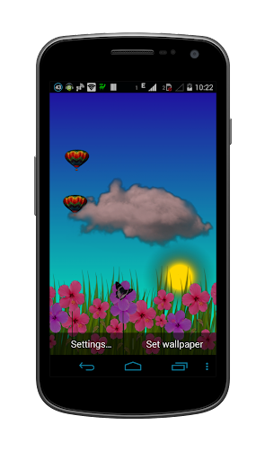 Nexus Garden Live Wallpaper