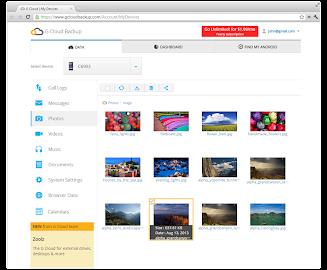 G Cloud Backup Screenshot 15