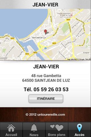 Jean vier cr ateur de linge android apps on google play - Linge basque saint jean de luz ...