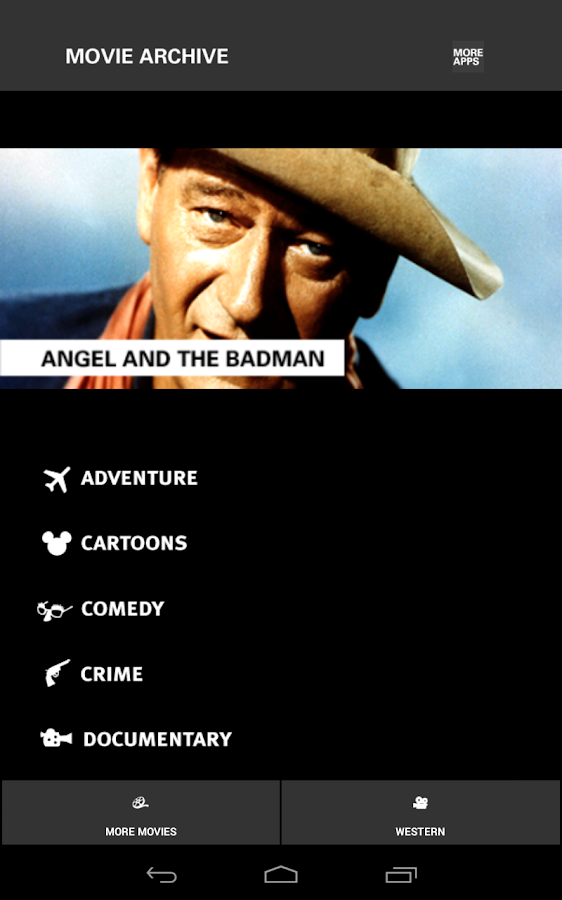 WESTERN MOVIES: FREE MOVIES - screenshot