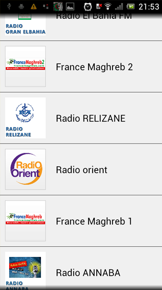 Algerie Live Radio- screenshot