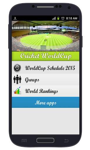 Cricket Event Schedule 2015