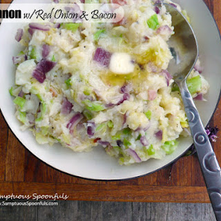 Colcannon with Red Onion & Bacon