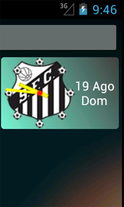 Santos app não oficial - screenshot