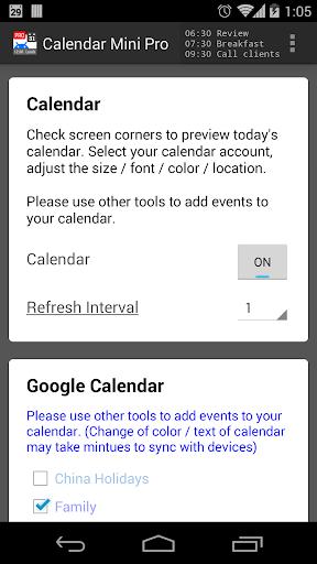 Calendar Mini Pro v1.0.151