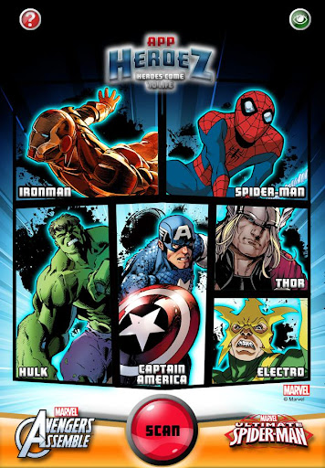 Marvel App Heroez