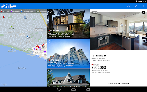 Real Estate & Rentals - Zillow Screenshot 22