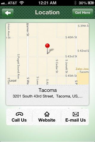 Tacoma Church - Tacoma UPC- screenshot