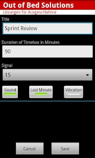 Scrum Timebox Timer - screenshot thumbnail