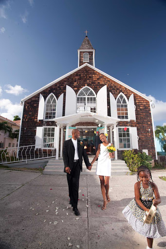 church-St-Maarten - The methodist church of Philipsburg, St. Maarten.