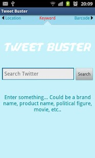 TweetBuster: Twitter Sentiment- screenshot thumbnail