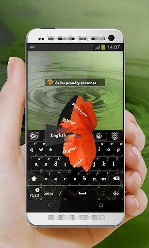 黑色罌粟 GO Keyboard