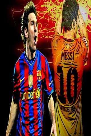 Lionel Messi Live Wallpaper - screenshot