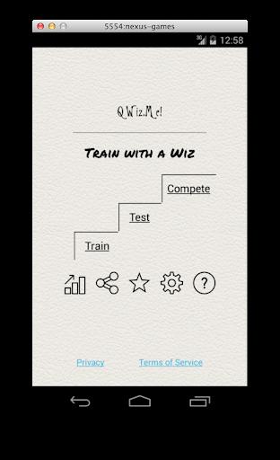 QWiz.Me - Train with a Wiz