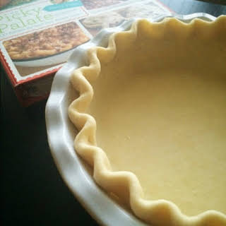 The Perfect Homemade All Butter Pie Crust.