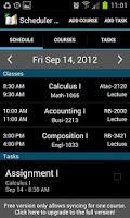 Screenshot of School Scheduler - Lite