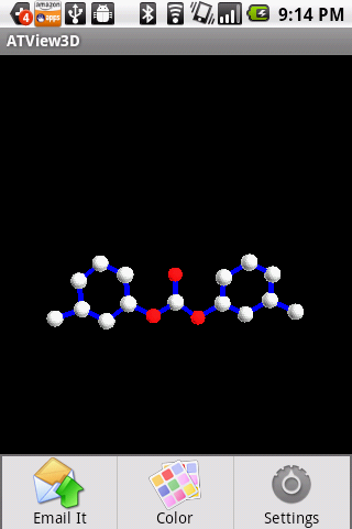 3D Molecule View- screenshot