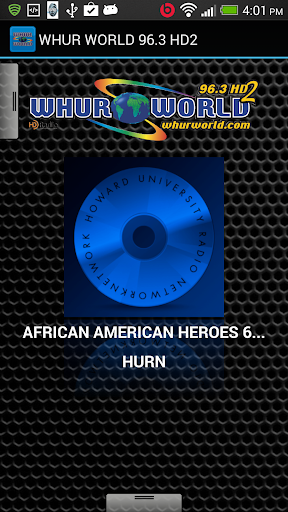 WHUR WORLD 96.3 HD2