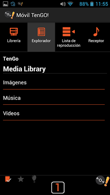 Media Center TenGO! - screenshot