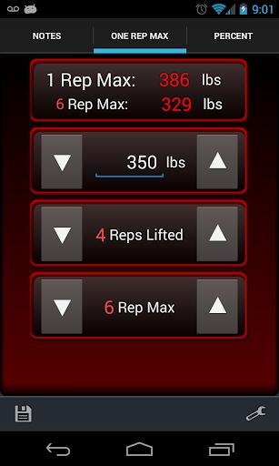 1 Rep Max ★ Ad Free Calculator