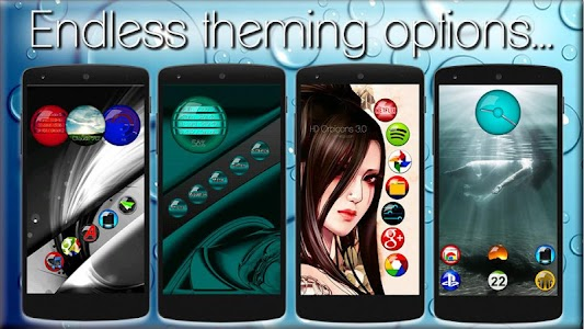 Icon Pack HD OrbiconS v3.0