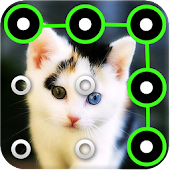 Cat Pattern Screen Lock