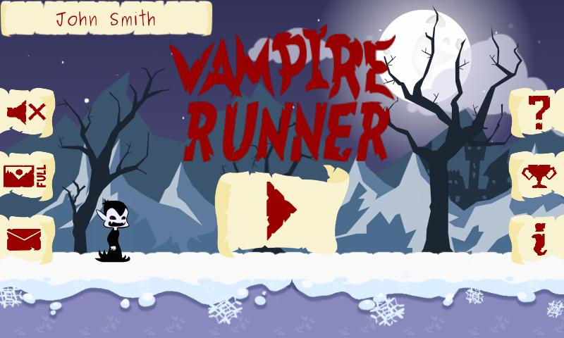 Vampire Runner- screenshot