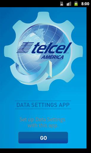 Telcel America Data Settings