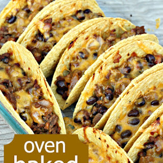 Oven Baked Beef Tacos.