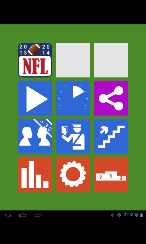 NFL Quiz 2014 - screenshot