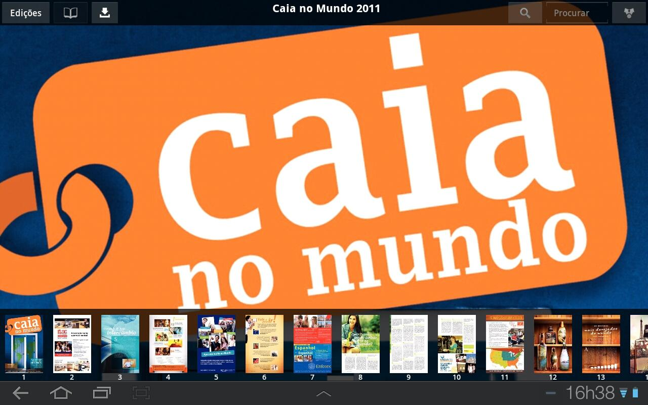 Caia no Mundo- screenshot