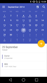 Today Calendar Screenshot 3
